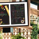 menú digital para restaurantes atractivo